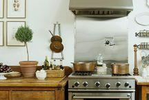 creative kitchens / your kitchen is a place to celebrate food, family & friends - a place of togetherness. join me on the quest for a beautiful & organized kitchen that provides as much function as it does beauty. / by Julie Blanner