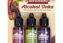 alcool inks