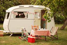 Vintage caravan ideas.