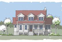 Grand Bay Home Plan / Coastal Cottage Home Plan