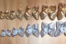 Metallic Hairbows / Metallic Hairbows