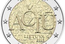 Monedas 2 euros Lituania