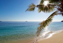 Sun, sand, sea and summer