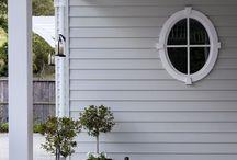 Exterior house colours