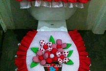 Lorraine toilet set