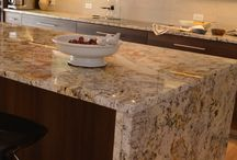 Countertops / Countertop surfaces designed by Studio 76 Kitchens and Baths