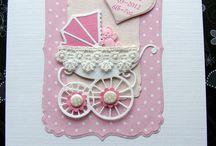 Handmade / Baby cards