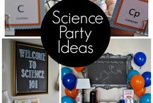 Party theme, science
