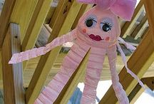 Recycling art projects for kids