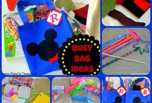 Busy Bags/Trays/sensory bins / by Kenderly Woods