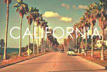 California Lovin' / California, southern california, Los Angeles, Orange County, Beach, ocean, waves, surf, sand, sun, snow, skate, skateboard, locals / by Marley Weddington
