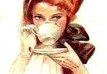 Koffie en theekopjes/potten.