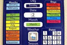 Montessori kalendář