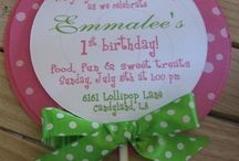 Birthday Parties for kids / by Shannon Tadlock