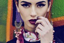 Make up inspiration - Frida Kahlo