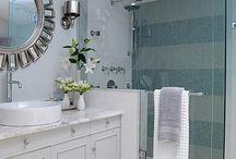 Hamptom style bathroom
