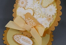 Scallop easel card