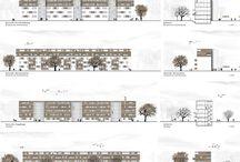 Architektur Darstellung