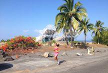 on location Kona Big Island Hawaii / A few shots on location on the Big Island.  Running Skirts events included IronmanHawaii70.3 and Kona Marathon.