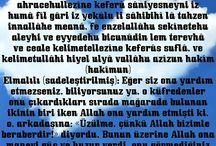 """""""Kur'an"""" dan dualar"""