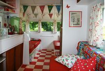 """caravans, hippy trucks and campers / Retro, vintage style """"glamping"""""""