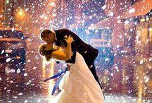 Téli esküvő/romantika