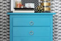 PAINTED FURNITURE / Painted Furniture, Decoration, Furniture Colours, DIY, Recycling,Home Decor, House Decor , Decoration, Renovation, Decorating, Design, Colour, Color, Painting, Furniture, Home Accessories