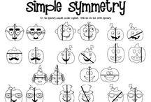 symmetry / by Joanna Chudyk