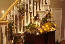 Thanksgiving Decorations / by Heidi Perry