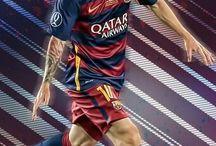 lionel messi / een voetballer