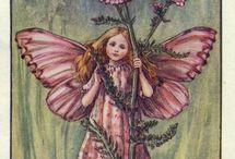 las fadas de las flors, cicely mary barker / un monde de fantasiament