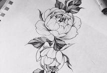 Chelli Tattooentwurf