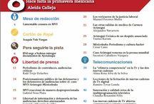 Revista Zócalo abril / Dedicada al caso #Aristegui