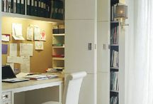 Bedroom cupboard desk wall room ideas