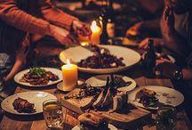 Dinner parties / Outdoor settings