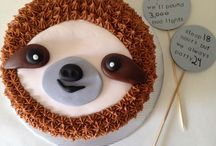 Sloth birthday ideas