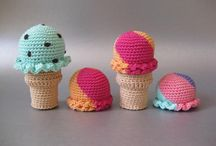 Crochet playfood