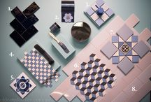 Tile colour Inspiration ~ blue