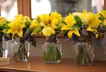 Yellow Weddings / Highlighting  Work by Eco-Posh Events in the Yellow color scheme