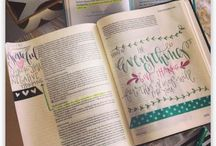 LJDCo. Journaling Bible Entries / My daily journey through illustrating and hand lettering in my Journaling Bible.  Please feel free to encourage others by re-pinning!