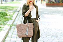 Outfitové inšpirácie / Prinášame vám jedinečné inšpirácie outfitov v kombinácií s kabelkami Kbas