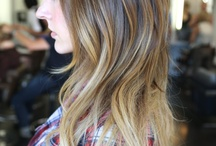 Hair inspiration for salon clients  / by CaraSue Lawrence Hall