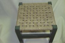 Chairs Chairs Chairs / Caning and weaving ideas.  Repurposing ideas.  / by Jessica Bruce