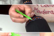 Mandolin painting