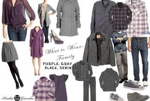 Sample ~ family what to wear / Business blog