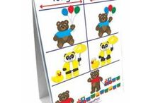Early Childhood / Games, activities, lessons, and manipulatives for early childhood education! Great for teaching preschoolers and toddlers