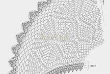 inspirace / vzory háčkování pletení