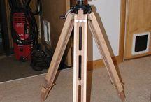 Ahşap üçayak / wooden tripot