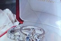 Cartier Soliters ring and matching band