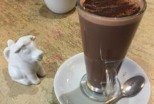 Hot Chocolate Around the World / So, I confess - I have a hot chocolate in every city that I visit. Enjoy this gallery of my #hotchocolate around the world.